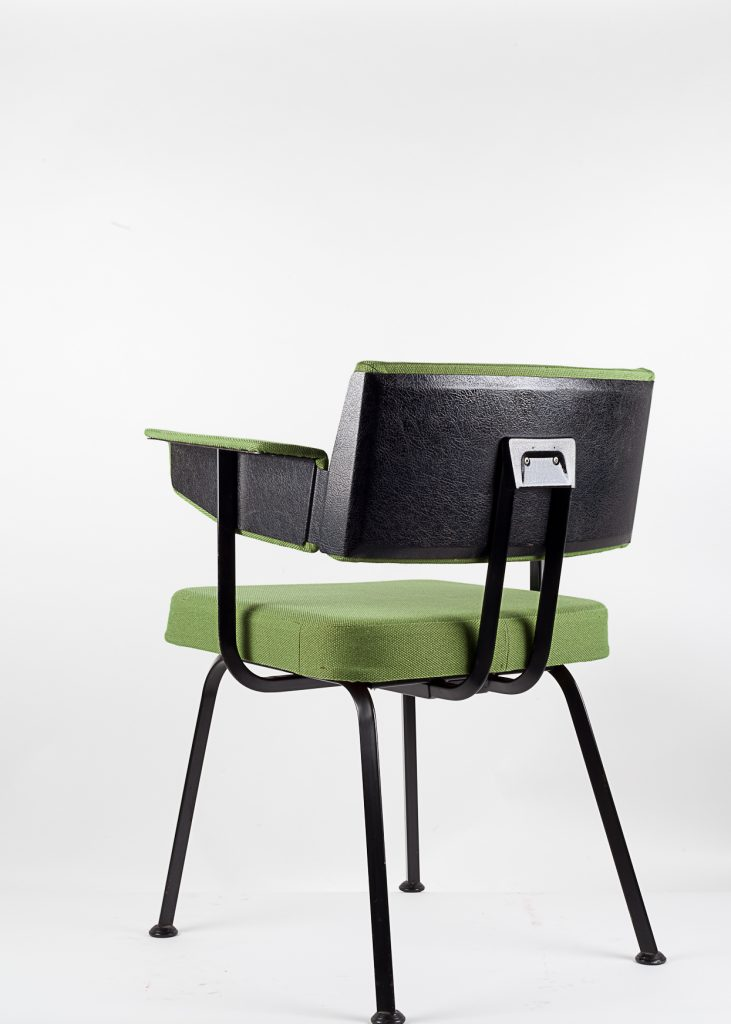 1969 FRISO KRAMER - REVOLT ARMCHAIR - photo©ikonocraft